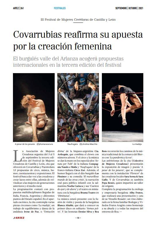 ARTEZ - La Revista de las Artes Escénicas